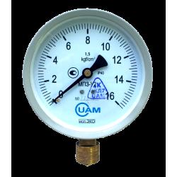 Манометр МП3-У2 (Эко) 16 кгс/см2-1,5-М20х1,5