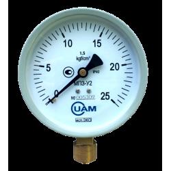Манометр МП3-У2 (Эко) 25 кгс/см2-1,5-М20х1,5
