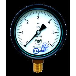 Напоромер НМП-У2-6 кПа-1,5-М20х1,5