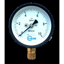 Манометр МП3-У2-10 кгс/см2-1,5-М20х1,5