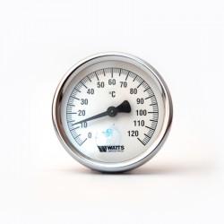 Термометр биметаллический 63 мм 120 С (осевой)