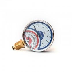 Термоманометр (R) D80-6bar-120