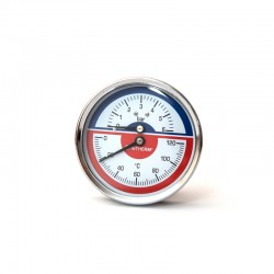 Термоманометр (O) D80-6bar-120