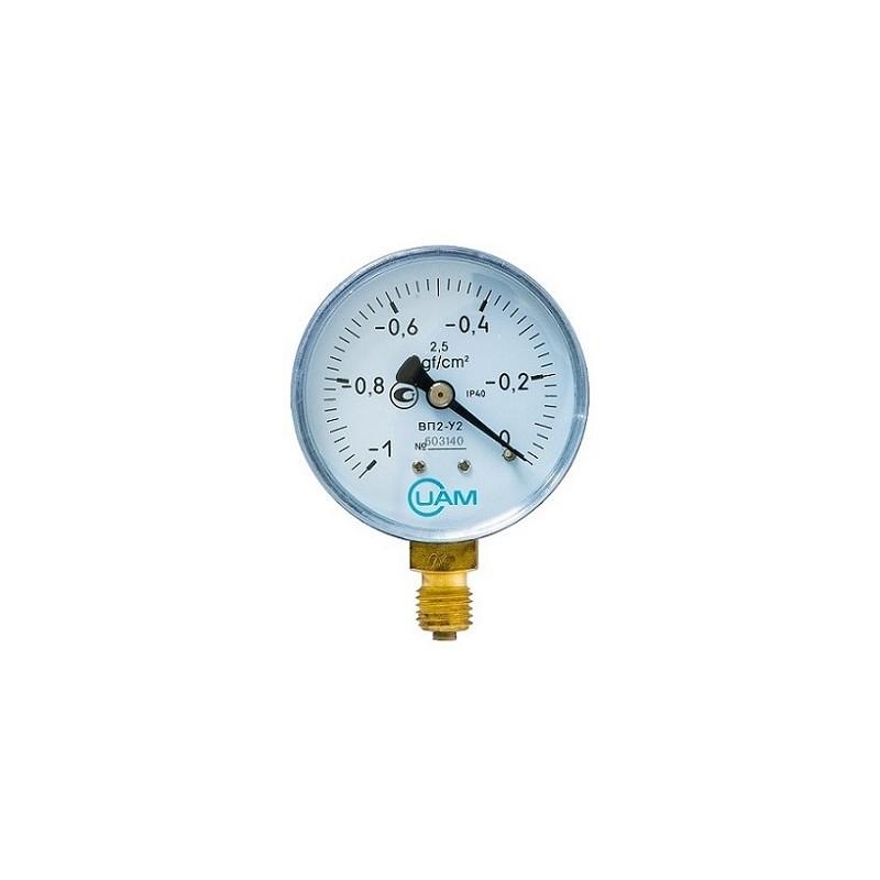 Вакуумметр ВП2-У2-(-1...0 кгс/см2)-М12х1,5 2